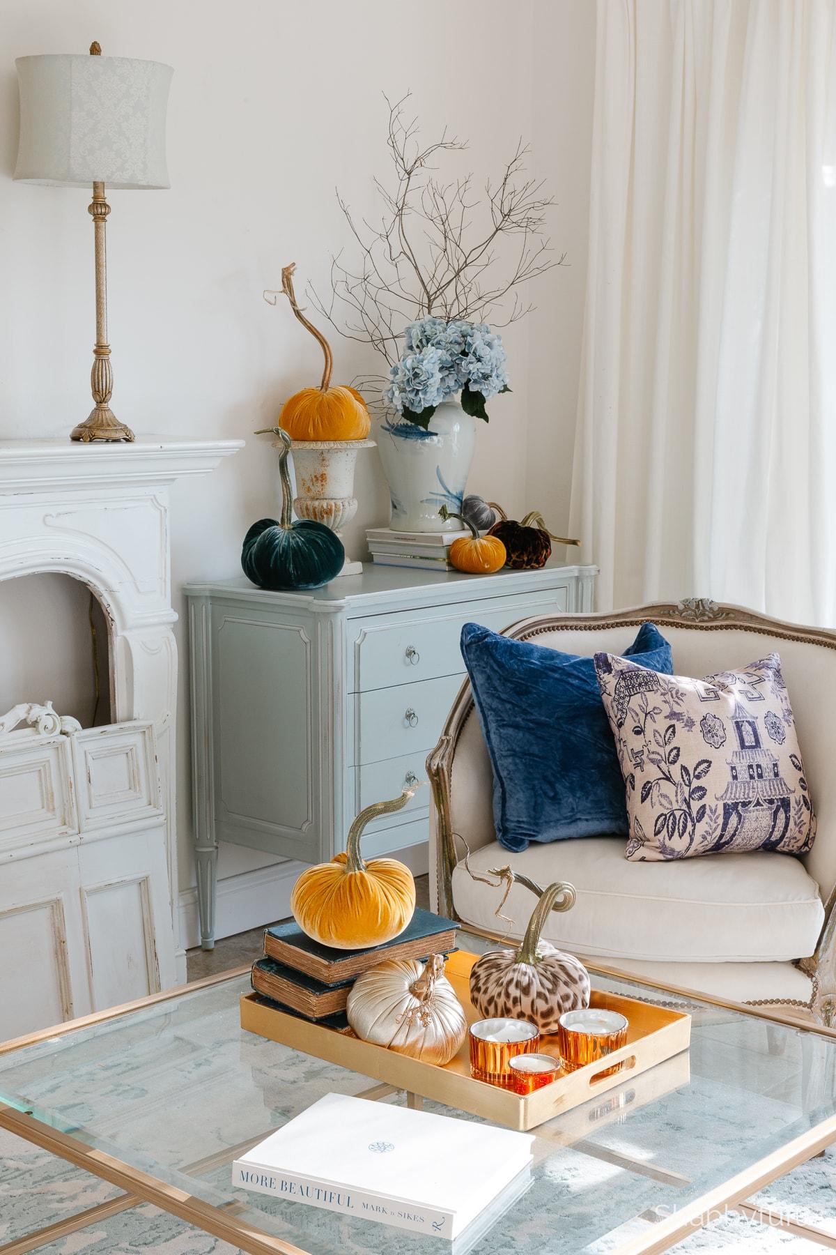 shabbyfufu fall living room 2021